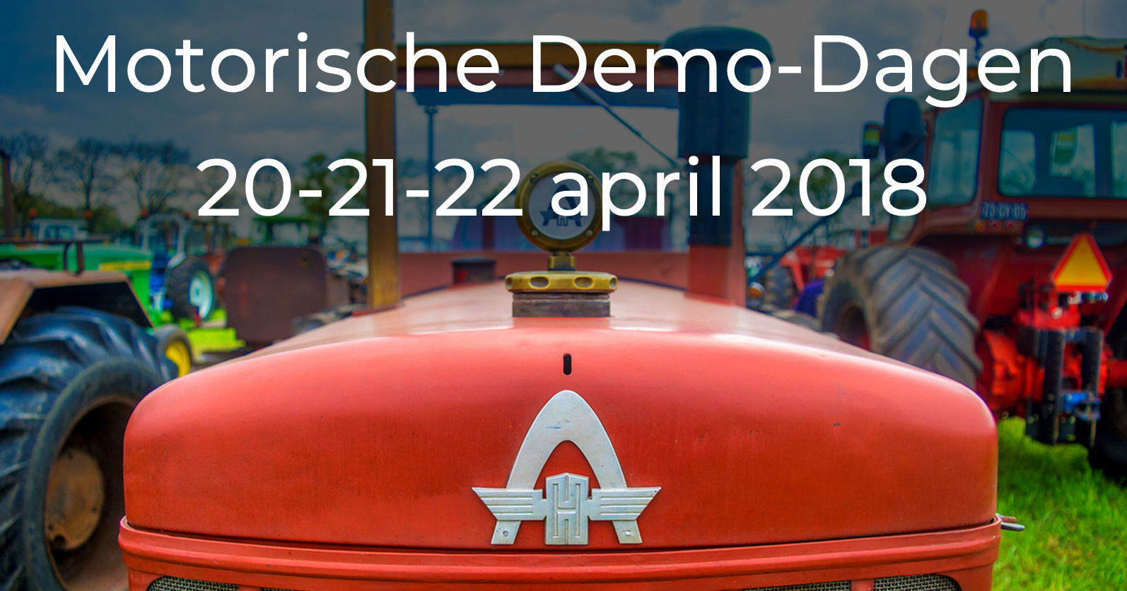 Motorische Demo-Dagen 20-21-22 april 2018 • 03-02-2018