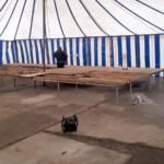 Voorbereidingen MDD 2018 - Verdere opbouw podium • 01-04-2018