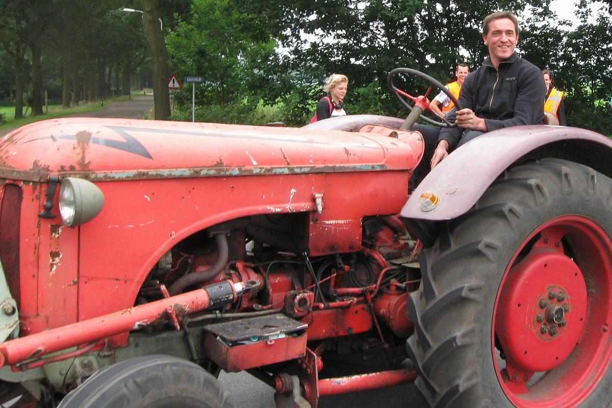 Tractortoertocht VC de Krum 15 juli 2018 • 06-07-2018