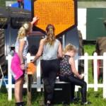 Agrarische Speurtocht op het showterrein in Asten