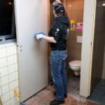 Voorbereidingen MDD 2019 - Afwerking vernieuwde douche en Toilet • 17-03-2019