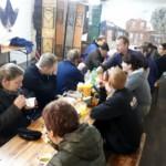 Voorbereidingen MDD 2019 - In onze kantine worden de werkzaamheden geëvalueerd • 17-03-2019