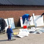 Voorbereidingen MDD 2019 - Groot en klein zorgen dan onze bezoekers niet verdwalen • 14-04-2019