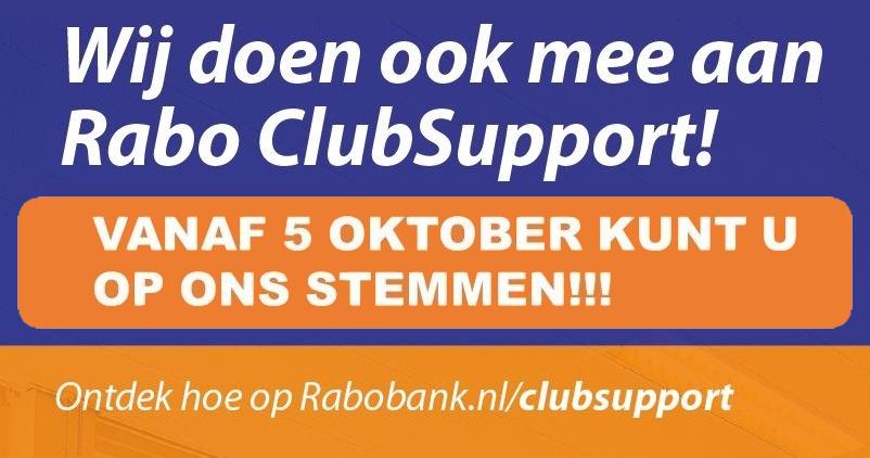 Stem VC de Krum tijdens Rabo ClubSupport